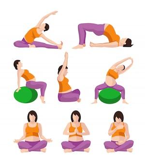 Exercício de mulher grávida