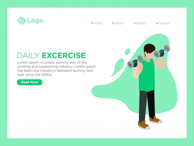 Exercício diário