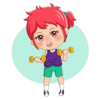 Exercício feminino