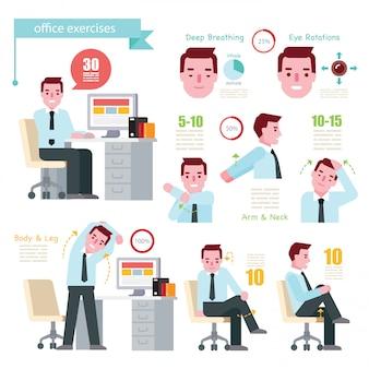 Exercícios de escritório