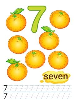 Exercícios para escrever números