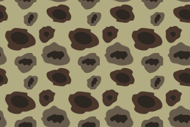 Exército camuflagem padrão cor cáqui. ilustração vetorial.
