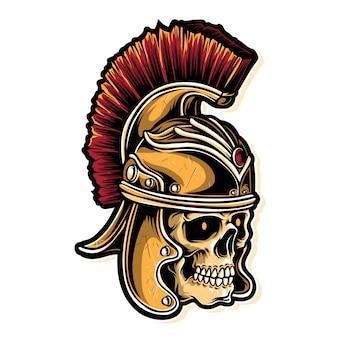 Exército de caveiras romanas