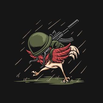 Exército de frango