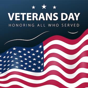 Exército do dia dos veteranos da américa