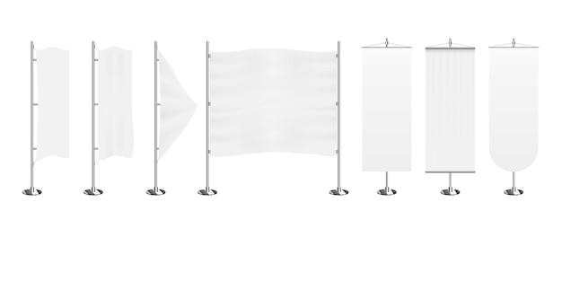 Exibição de banner de acúmulo de bandeira
