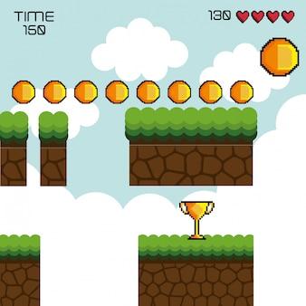 Exibir pixel de jogo