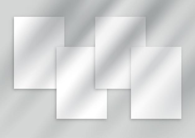 Exibir plano de fundo com uma sobreposição de sombra
