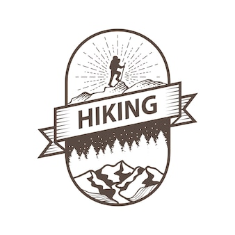 Expedição de viagens e montanha