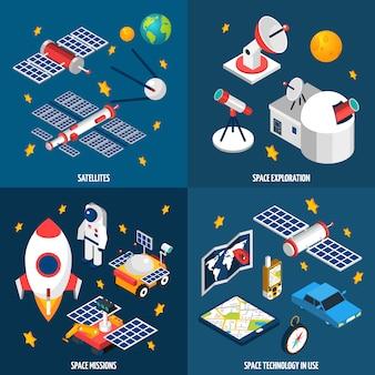 Exploração espacial isométrica