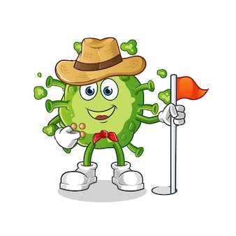 Explorador de vírus