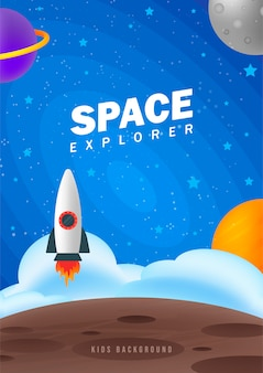 Explorador do espaço.