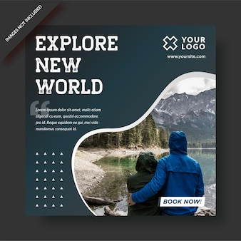 Explorar nova postagem mundial do instagram