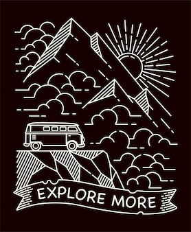 Explore mais ilustração de linha