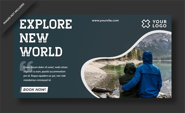 Explore o novo design do banner mundial