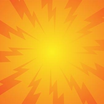 Explosão cômica radial