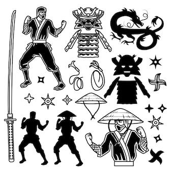 Exposição de samurai e ninja