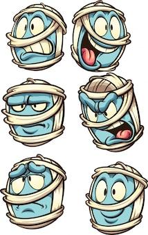 Expressões de múmia