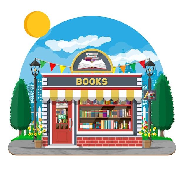 Exterior da livraria
