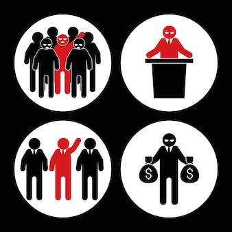 Extremismo e corrupção