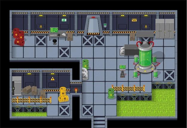 Fábrica de robôs tileset