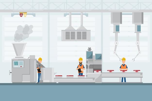 Fábrica industrial inteligente