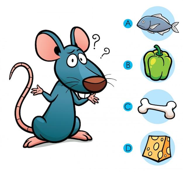 Faça a escolha certa conectar animal com sua comida