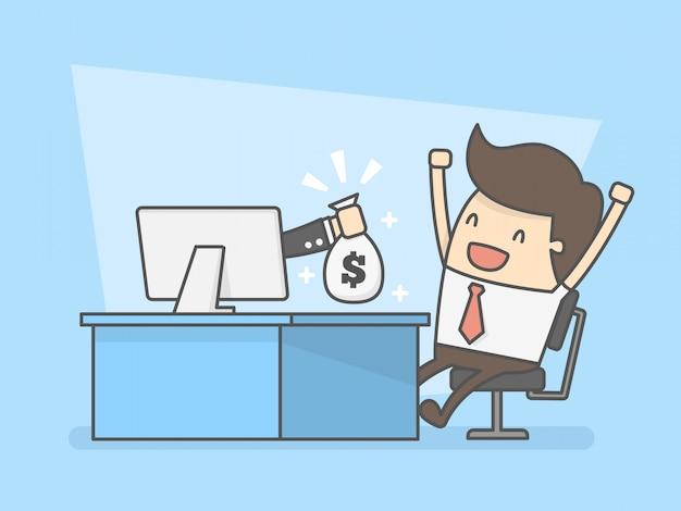 Faça dinheiro online.