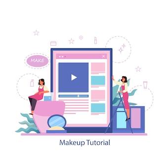 Faça o serviço online. tutorial em vídeo online, faça um blog.