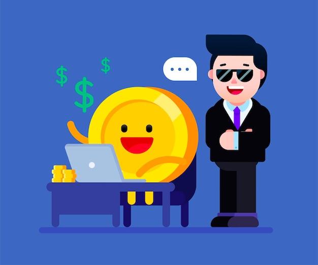 Faça seu dinheiro trabalhar para você para obter uma renda passiva