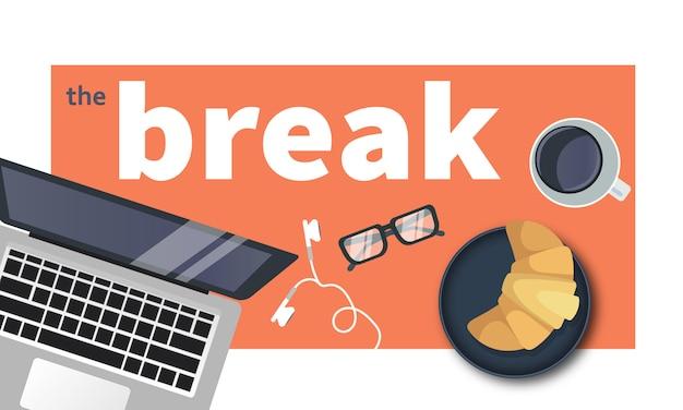 Faça uma pausa do trabalho