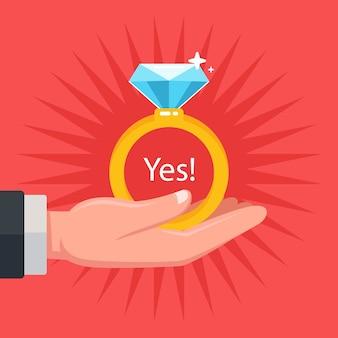 Faça uma proposta de casamento para sua esposa