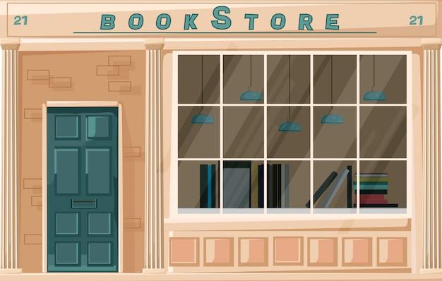 Fachada da livraria