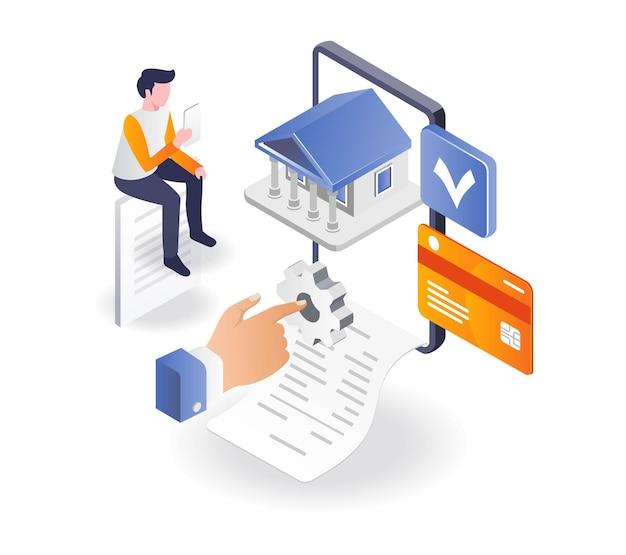Facilidade de investimento em banco online