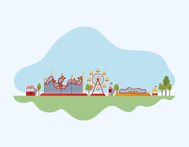 Fair and rollercosters