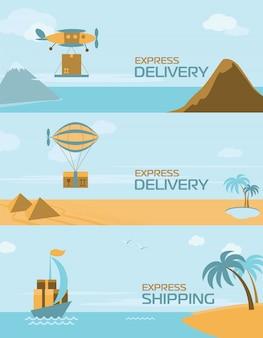 Faixa de entrega