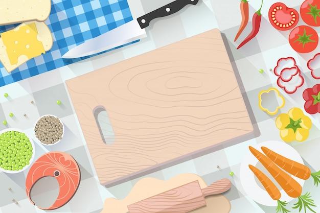 Faixa plana de fast-food. para sites de decoração, folhetos e outras produções impressas