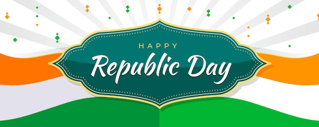 Faixa plana do dia da república