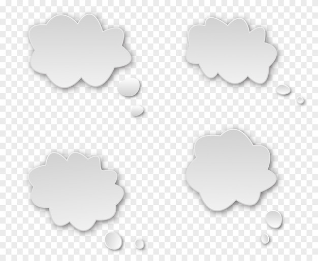Fale nuvem de diálogo.