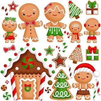 Família gingerbread