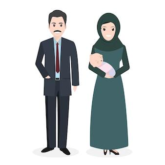Família muçulmana