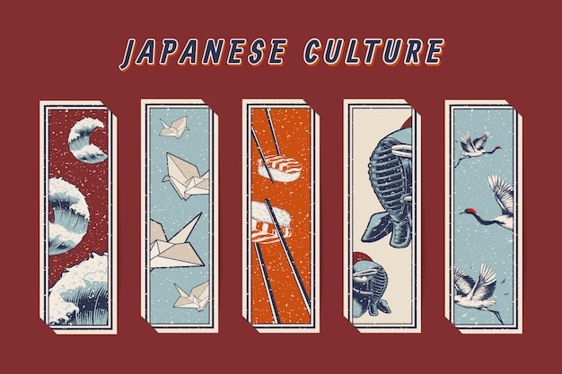 Famosos ícones culturais japoneses