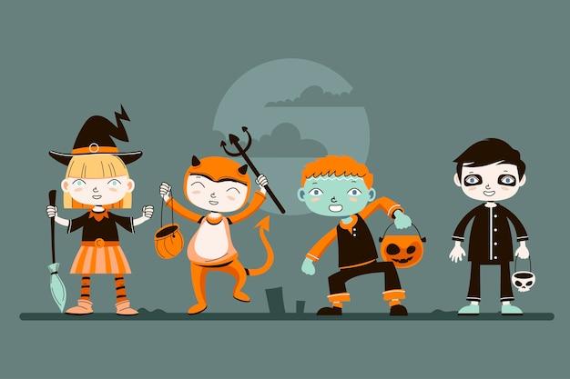Fantasias de halloween para crianças