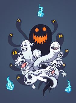 Fantasmas do dia das bruxas