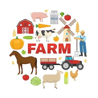 Farm round design