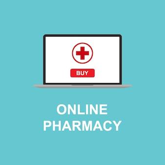 Farmácia on-line no seu dispositivo