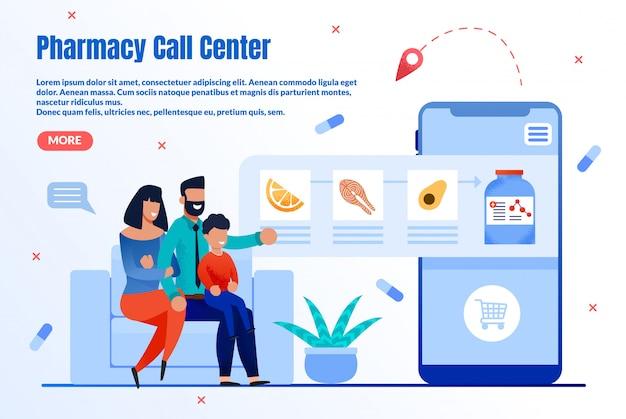 Farmácia online helpdesk flat