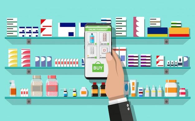 Farmácia ou drogaria on-line
