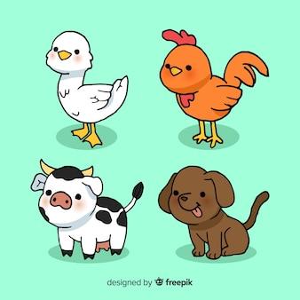 Farmio colecionar animais
