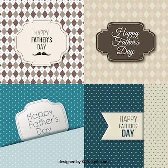 Fathers day cards coleção